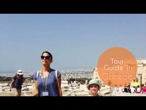 Tour Guide in Greece ~ Marialena Christopoulou