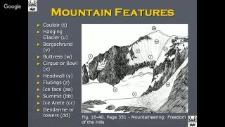 Seminar: Making the Transition to Mountaineering