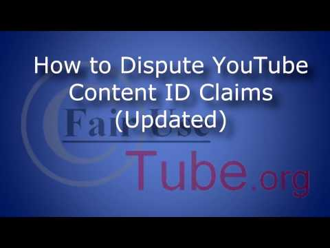 How to Dispute Content ID Claims (Copyright Tutorial--Updated Nov 2012)