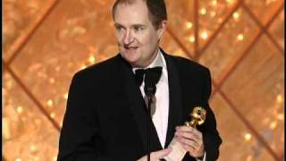 Jim Broadbent Wins Best Supporting Actor Motion Picture - Golden Globes 2002