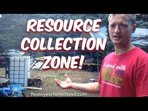 "Upcycled Living - The ""Resource Collection Zone"" ie; the Junkyard"