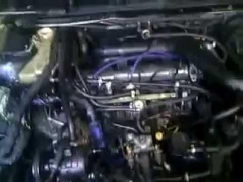 всё оборудование для турбонагнетателя в peugeot 605