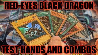 Gambar cover HOW TO PLAY A DECK! RED-EYES BLACK DRAGON TEST HANDS AND COMBOS! (MAY 2020) YUGIOH!