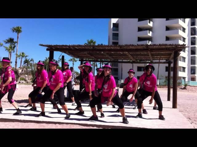Las Adictas al Baile at the San Carlos Cancer Walk 2015 - Their final dance