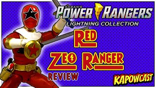 POWER RANGERS LIGHTING COLLECTION RED ZEO RANGER REVIEW
