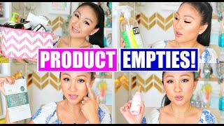 EMPTIES | Products I've Used Up