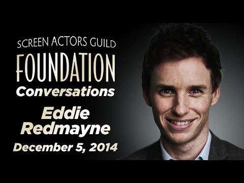 Conversations with Eddie Redmayne