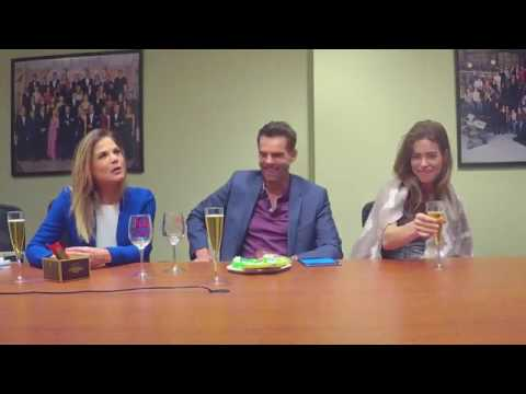 Jason Thompson, Amelia Heinle & Gina Tognoni  Y&R FB Chat 31717