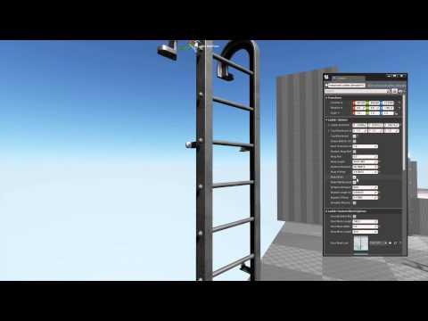 UE4 Procedural Ladders - Смотреть видео онлайн