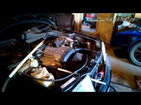 W124 Mercedes промывка радиатора печки без снятия