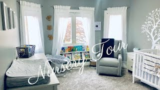 OUR BABY BOY'S NURSERY TOUR!