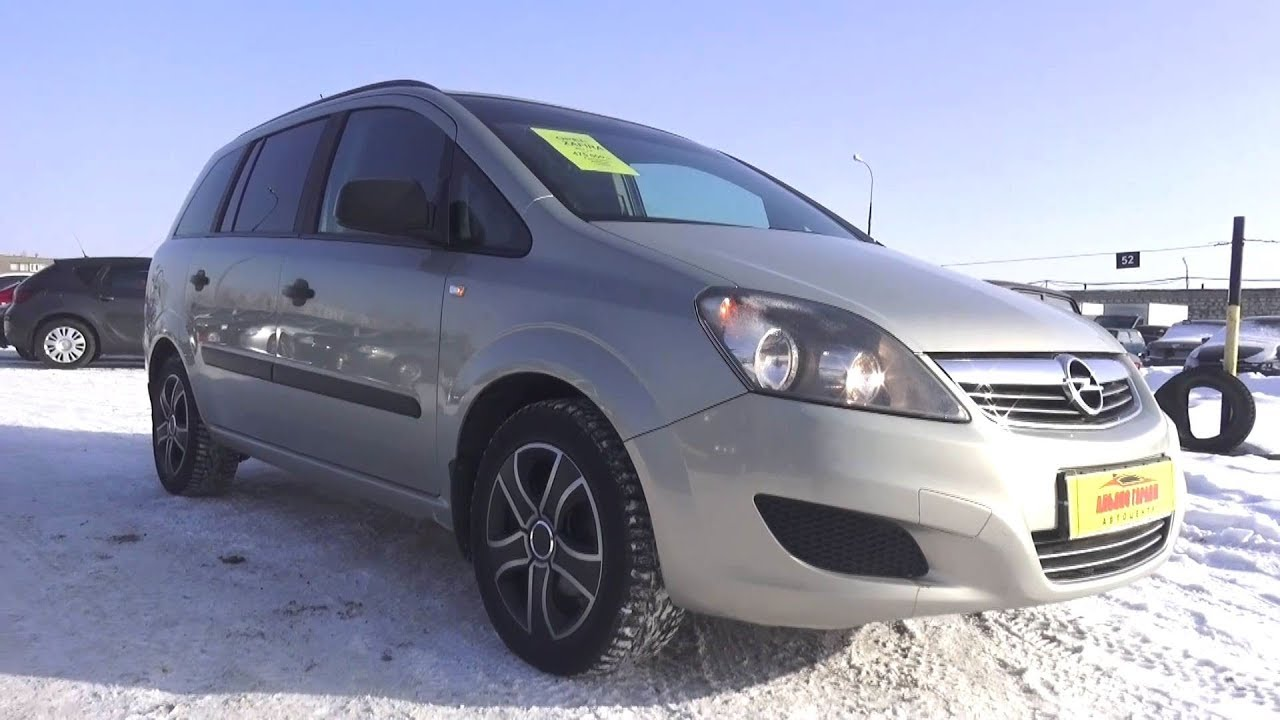 2011 Opel Zafira B 1.6 MT. Start Up, Engine, and In Depth Tour.