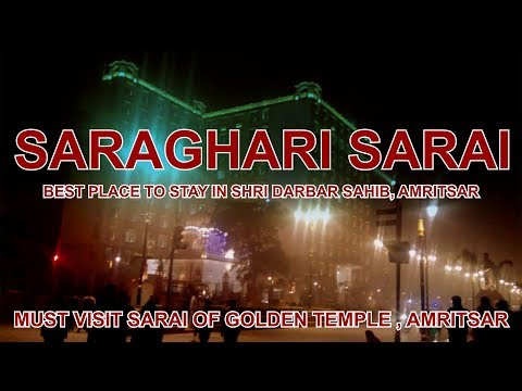 Saraghari Sarai Best Place to Stay in Amritsar