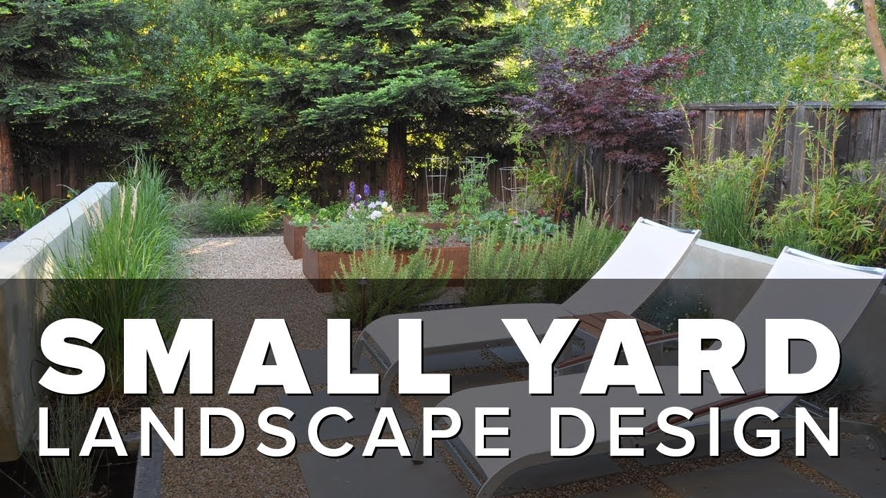 Small Garden Ideas - Small Yard Landscaping - YouTube on Landscape Garden Designs For Small Gardens id=36240