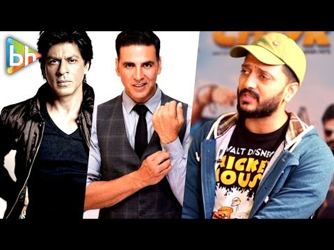 Actors Like Shah Rukh Khan | Akshay Kumar Work As Hard Believing That... | Riteish Deshmukh