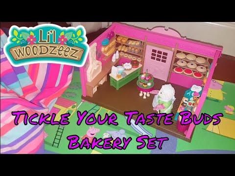 Lil Woodzeez Tickle Your Taste Buds Bakery Set