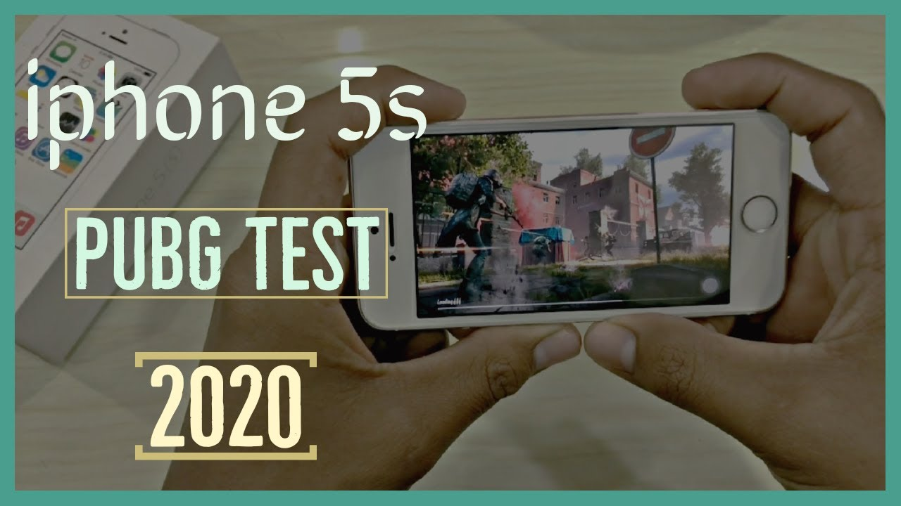 iphone 5s Pubg Test in 2020 || iphone 5s battery life