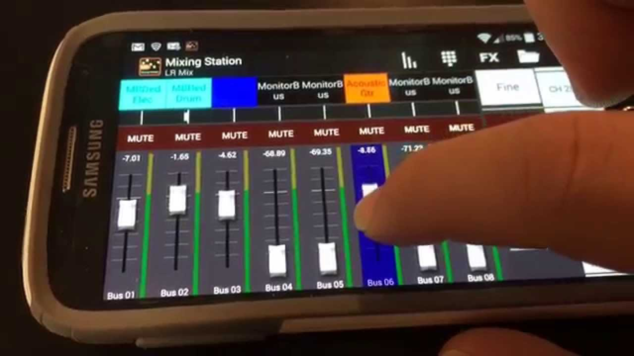 In Ear Monitors With Mixing Station For Android Youtube
