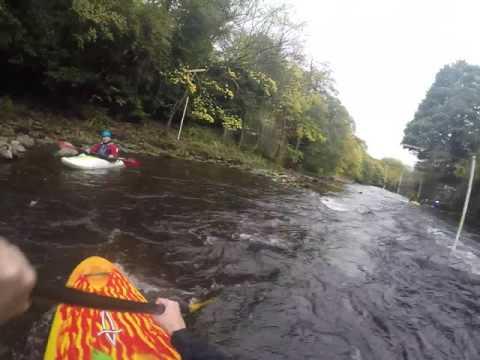 River Derwent (Derbyshire) Kayaking