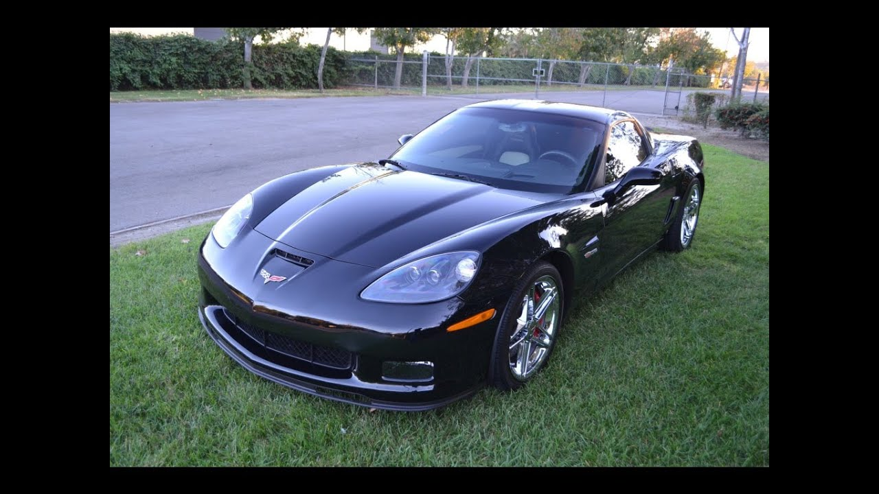 sold 2008 black corvette z06 for sale by corvette mike. Black Bedroom Furniture Sets. Home Design Ideas