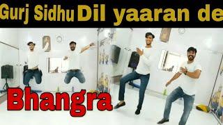 Bhangra on Dil Yaaran De |Gurj Sidhu |Bhangra Mechanics |Most Viral Bhangra
