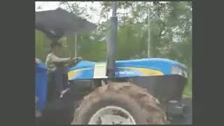 (HAPPY LIFESTYLE 14) LILA (Beautiful Tigress Subdues The Tractor)