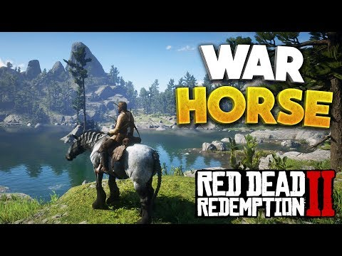 RDR2 How To Change Horse & How To Get War Horse! Red Dead Redemption 2 Best Beginner Horse!