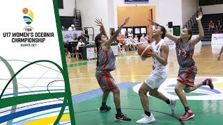 New Zealand v New Caledonia - Full Game - FIBA U17 Women's Oceania Championship 2017 thumbnail