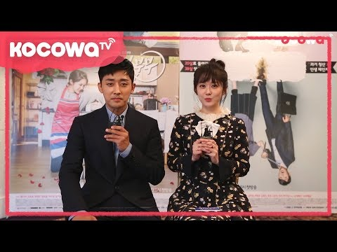 "[Greetings] Jang Nara and Son Ho Jun of ""Go Back Couple"""