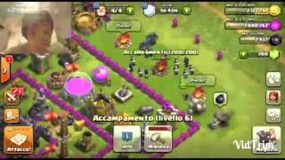 Le migliore truppe per attaccare in war con gowipe clash of clans