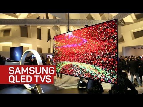 Samsung QLED TVs use quantum dots to battle LG's OLEDs