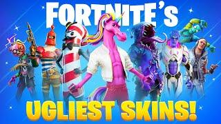 25 UGLIEST Fortnite Skins