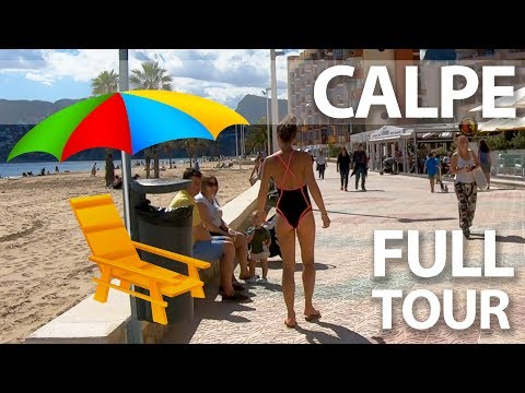 Calpe Alicante City Tour - best places to visit in Calpe Spain
