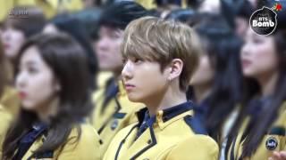 Video [INDO SUB] [BANGTAN BOMB] Jung Kook went to High school with BTS for graduation! download MP3, 3GP, MP4, WEBM, AVI, FLV September 2017