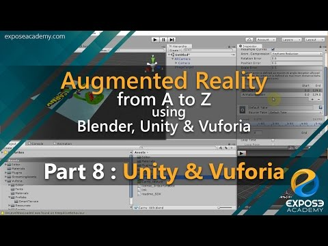 Augmented Reality from A to Z using Blender, Unity and Vuforia | part 8 : Unity and Vuforia