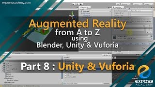 augmented reality from a to z using blender unity and vuforia   part 8 unity and vuforia