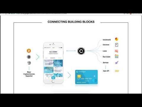 "Change ICO - ""A Truly Decentralised Crypto Bank."""
