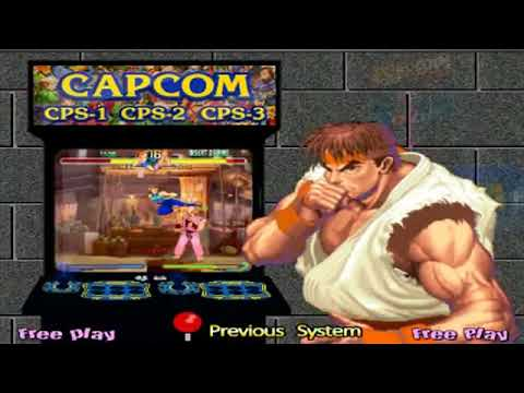 capcom play system 3 hyperspin
