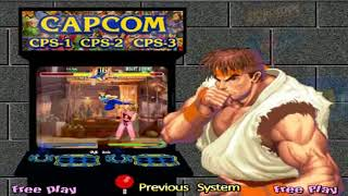 Capcom CPS 123 Hyperspin