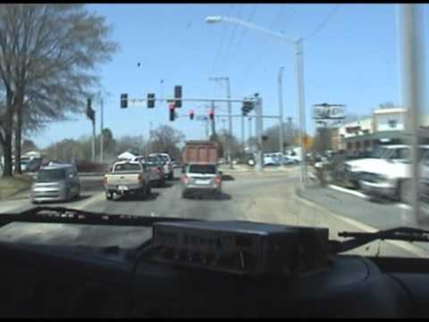 Trucking through Little Rock Arkansas