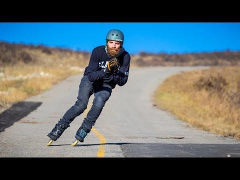 Pure Alberta FUN on inline skates