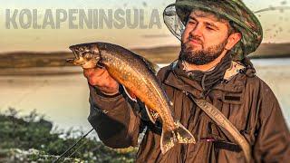 Ловля Арктического гольца в Тундре Рыбалка на Кольском полуострове Трудно забыть такую рыбалку