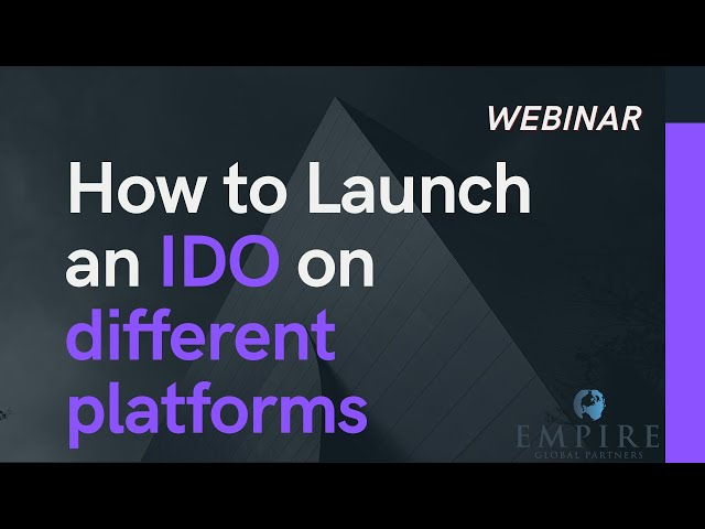 How to launch IDOs on Multiple Platforms, Part I