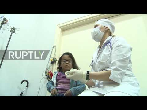Syria: New Russian medical centre in Aleppo can treat up to 150 civilians per day