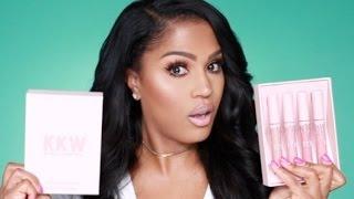 KKW x Kylie Cosmetics Review | MakeupShayla