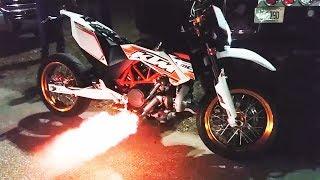 TURBO KTM 690 SMC ⚡ [Epic Moto Mix #001]