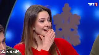ome clips of the wonderful duet  Alp -Alina  of the New Year program  AzCenk