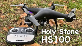 "Holy Stone HS100  - ""Great Beginner Drone"" - GPS - HD Cam - Follow Me - Return Home & More!"