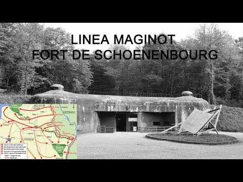 LINEA MAGINOT FORT SCHOENENBOURG ITALIAN