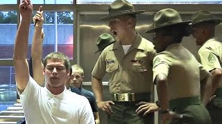 Marine Corps Boot Camp - Day 1 Receiving - Parris Island